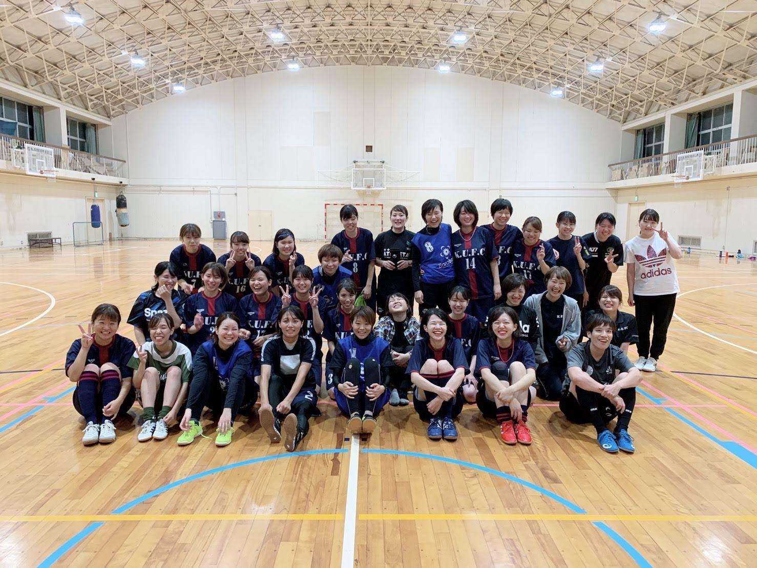 香川大学女子フットサル部さんと練習試合