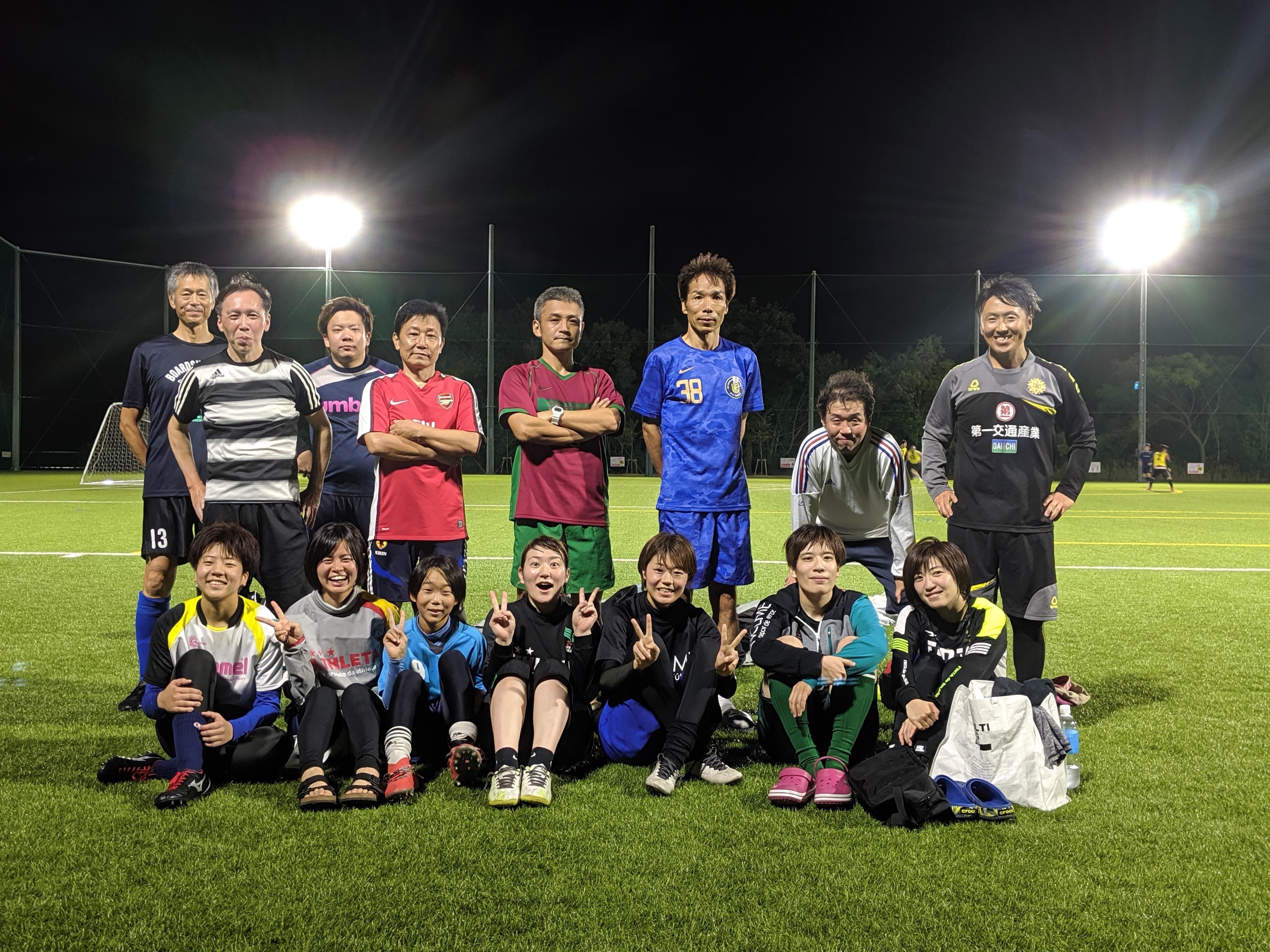 10月12日サッカー練習試合