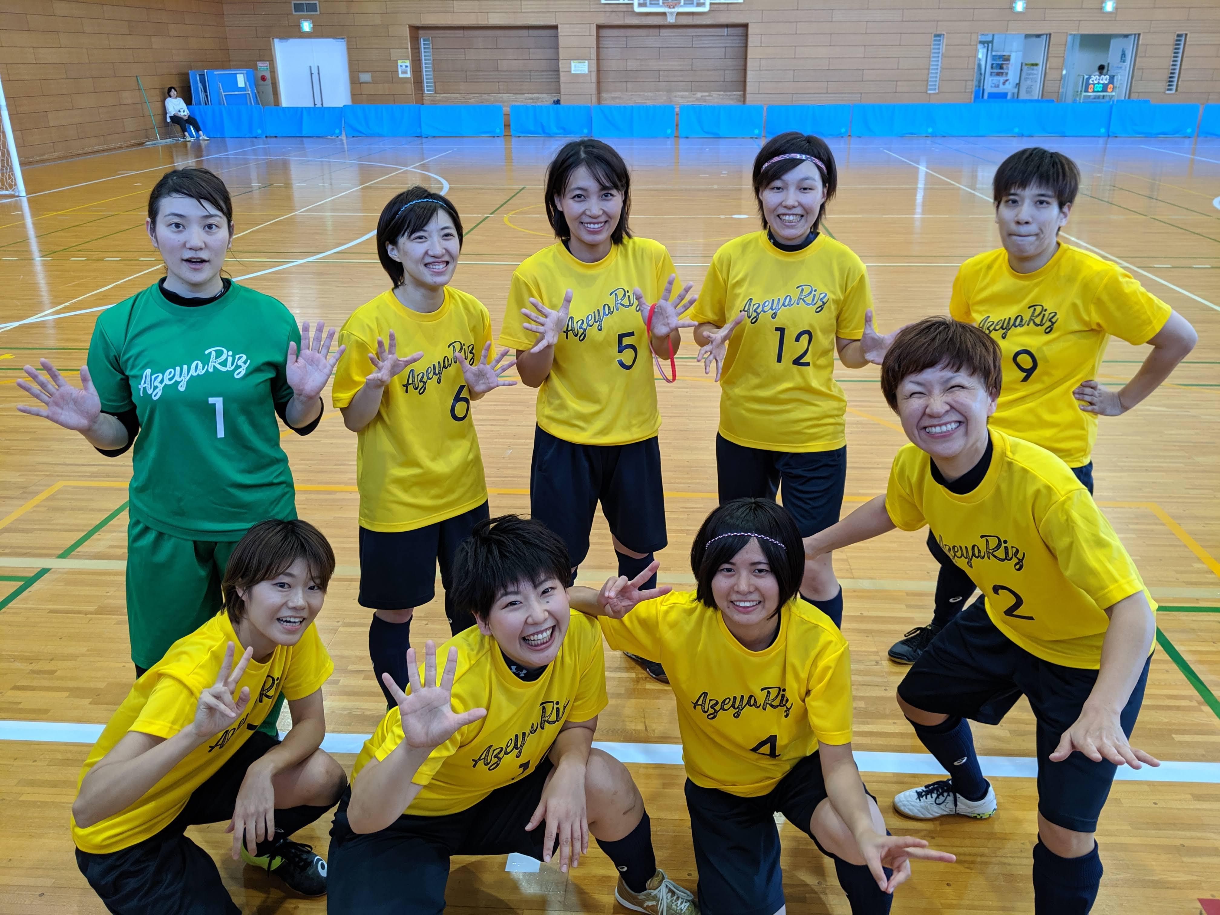 女子四国リーグ第5戦結果