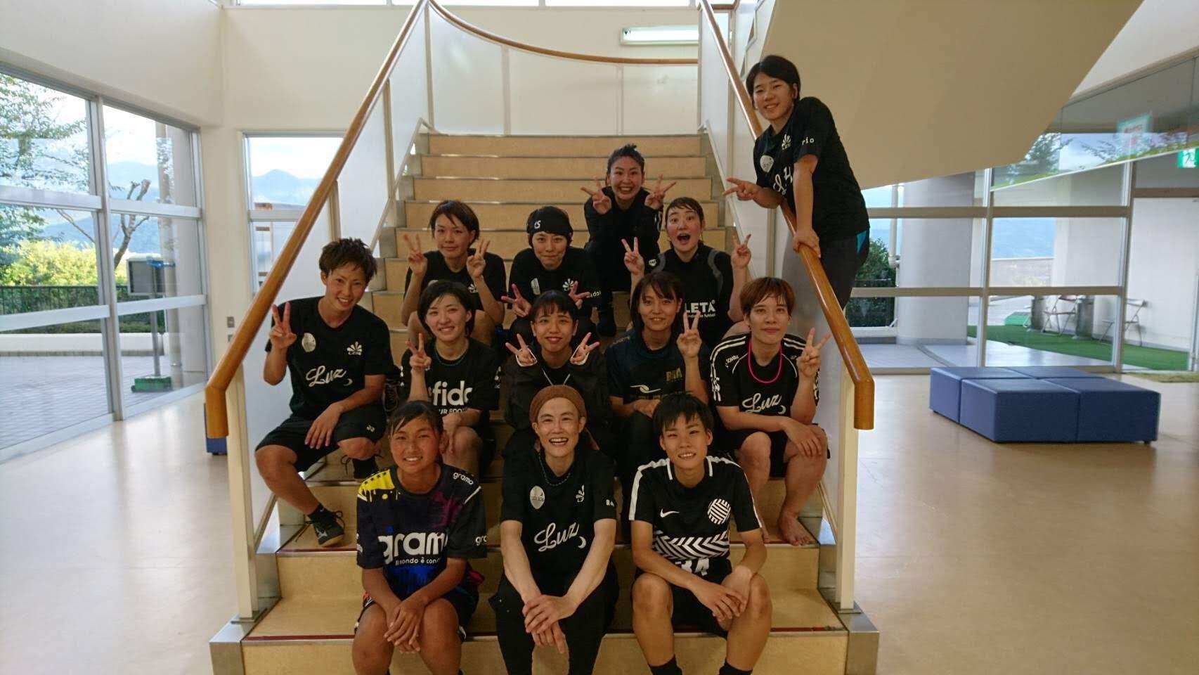 松山城北FCLBさんと合同トレーニング
